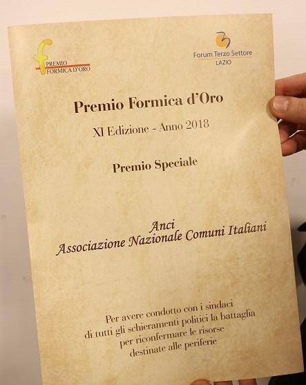 Premio Formica doro 2018